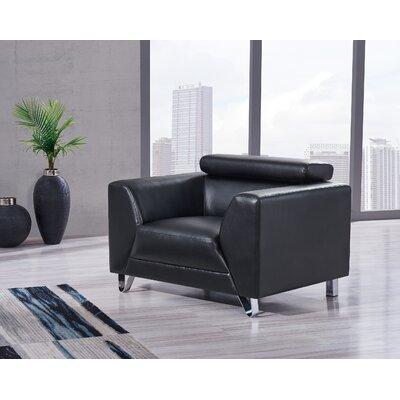 Runkle Armchair Upholstery: Black