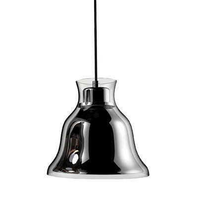 Ruffner 1-Light Inverted Pendant Shade Color: Chrome