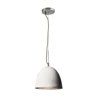 Ruggles 1-Light Inverted Pendant Size: Small