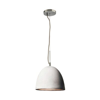 Ruggles 1-Light Inverted Pendant Size: Medium