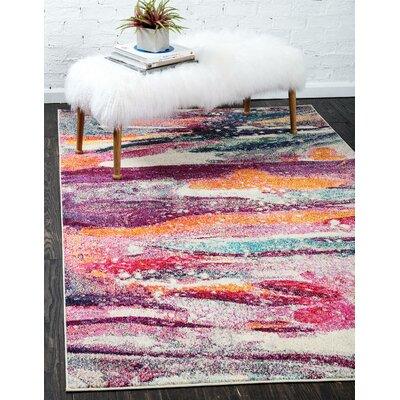 Vigna Area Rug Rug Size: Rectangle 106 x 165