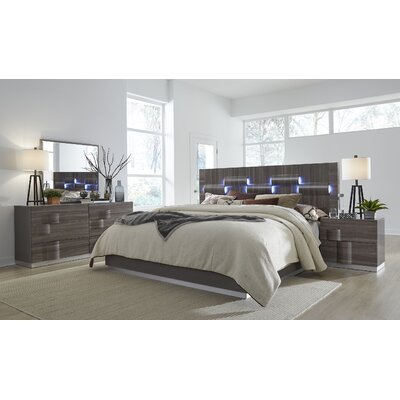 Rutherford Platform Bed Size: King