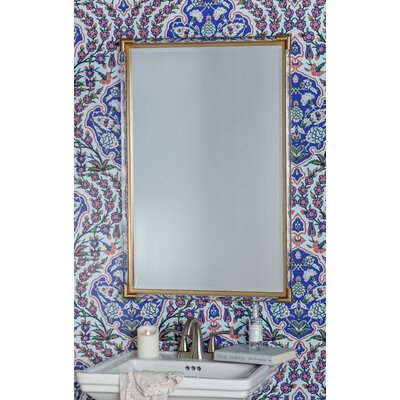 Modern Beveled Rectangle Accent Mirror