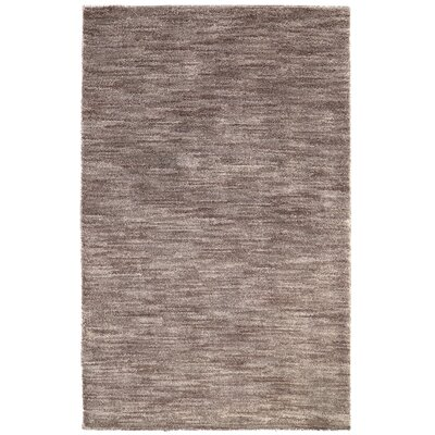 Mixson Dark Khaki Area Rug Rug Size: Rectangle 5 x 76