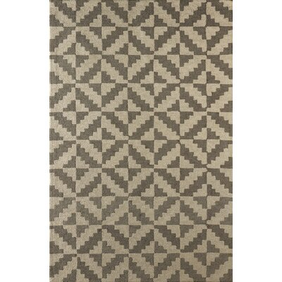Hisey Hand-Tufted Soot Area Rug Rug Size: Rectangle 6 x 9