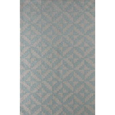 Hisey Hand-Tufted Sky Area Rug Rug Size: Rectangle 6 x 9