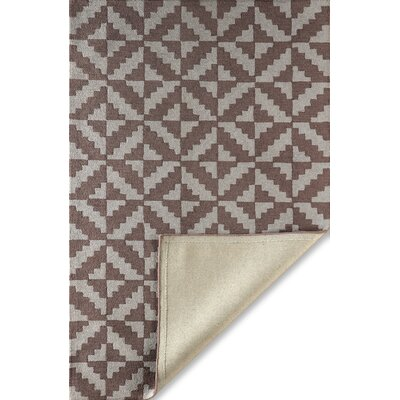 Hisey Hand-Tufted Brown/Gray Area Rug Rug Size: Rectangle 5 x 8
