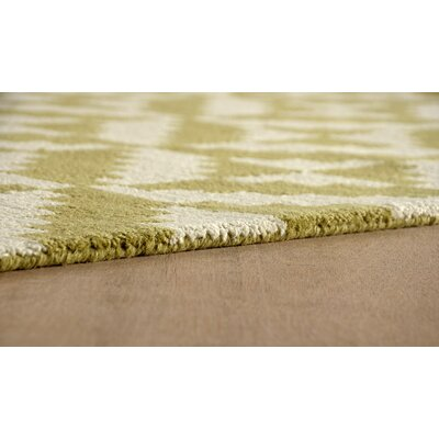 Hisey Hand-Tufted Pear Area Rug Rug Size: Rectangle 6 x 9