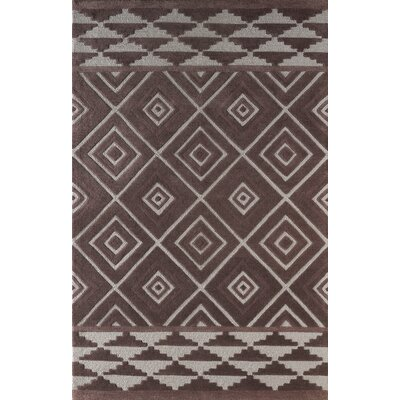 Luevano Hand-Tufted Dark Iris Area Rug Rug Size: Rectangle 5 x 8