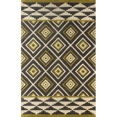 Luevano Hand-Tufted Pear Area Rug Rug Size: Rectangle 6 x 9