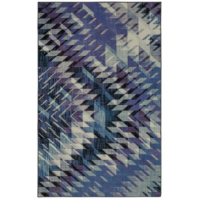 Gingrich Navy Area Rug Rug Size: Rectangle 5 x 8