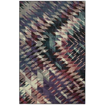 Chang Purple Area Rug Rug Size: Rectangle 5 x 8