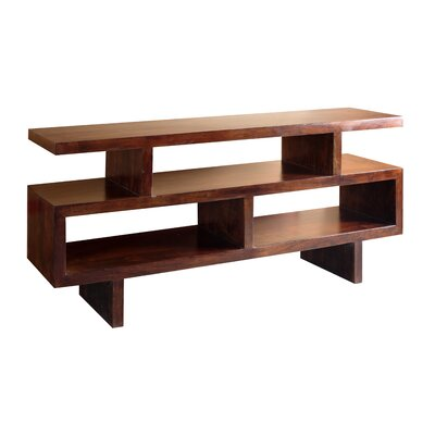 Fulbright Wooden 71 TV Stand Wood Finish: Dark Walnut