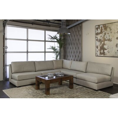 Seay Simple Modular Sectional Upholstery: Sand