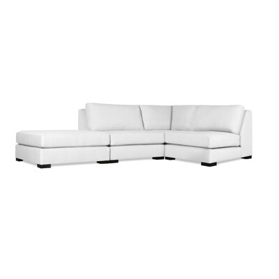 Seay Modular Sectional Upholstery: White