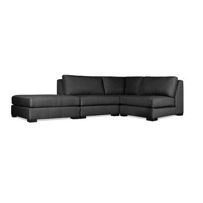 Seay Modular Sectional Upholstery: Charcoal