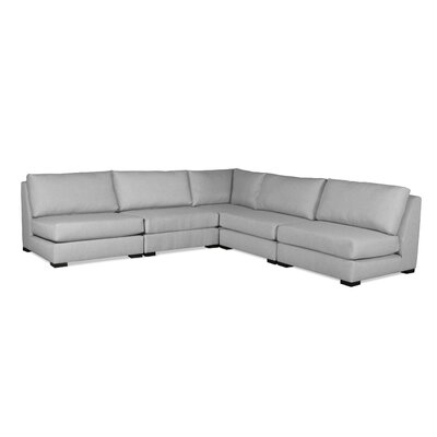 Seay Simple Modular Sectional Upholstery: Gray