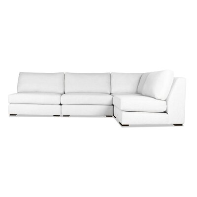 Glaude Modular Sectional Upholstery: White