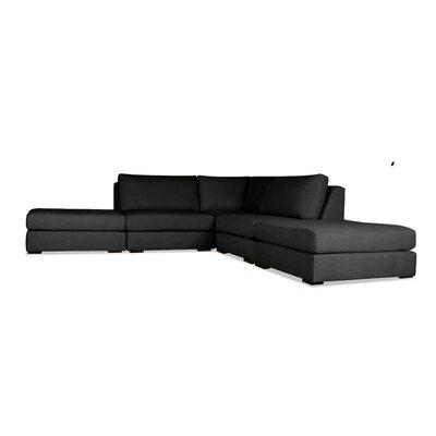 Glaude Modular Sectional Upholstery: Charcoal