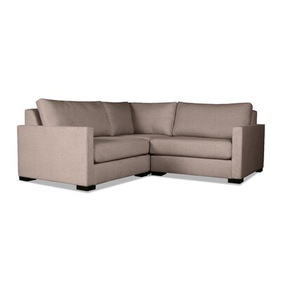 Secrest Modular Sectional Upholstery: Brown