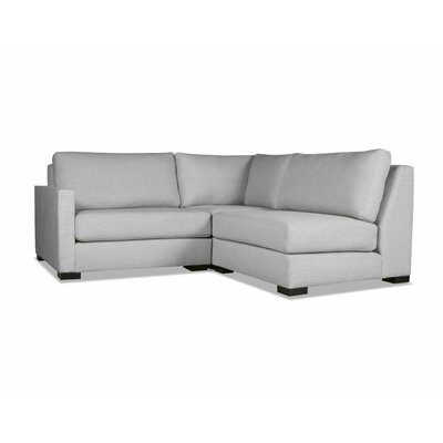 Secrest Sectional Upholstery: Gray, Orientation: Left Hand Facing