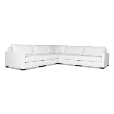 Secrest Modular Sectional Upholstery: White