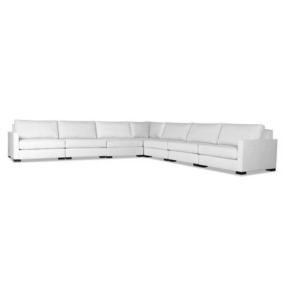 Secrest Modular Sectional Color: White