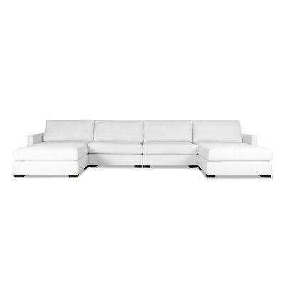 Secrest Modular Sectional Upholstery: White