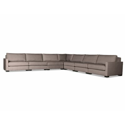 Secrest Modular Sectional Color: Brown