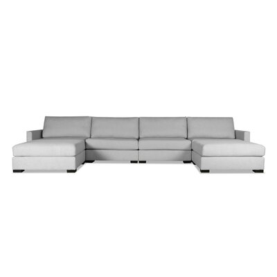 Secrest Modular Sectional Upholstery: Gray