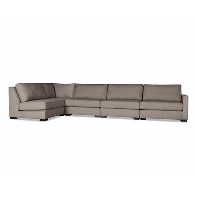 Secrest Modular Sectional Upholstery: Brown
