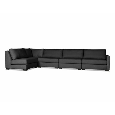 Secrest Modular Sectional Upholstery: Charcoal