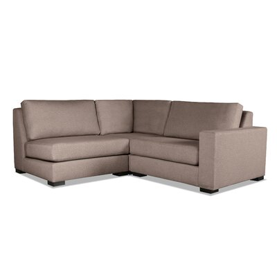Brose Sectional Upholstery: Brown, Orientation: Left Hand Facing