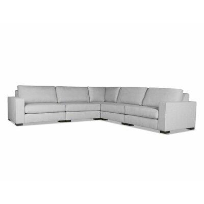 Brose Modern Modular Sectional Upholstery: Gray