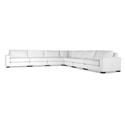 Seda Modular Sectional Upholstery: White