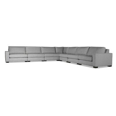 Seda Modular Sectional Upholstery: Gray