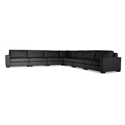 Seda Modular Sectional Upholstery: Charcoal