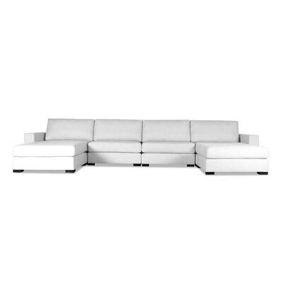 Brose Modular Sectional Upholstery: White