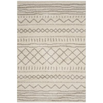 Elbridge Beige Area Rug Rug Size: Rectangle 51 x 76