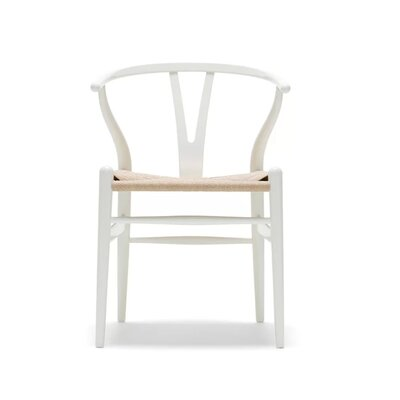 Burmeister Solid Wood Dining Chair Frame Color: White