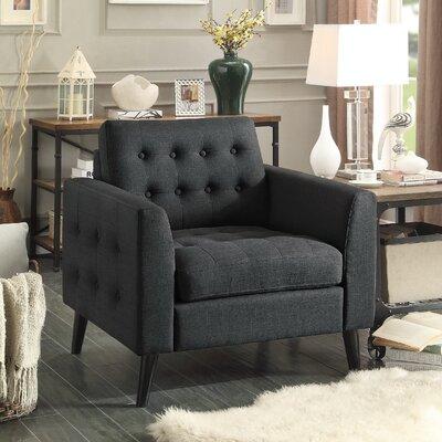 Starner Armchair Upholstery: Charcoal