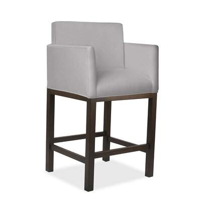 Hanshaw 30 Bar Stool Upholstery: Gray