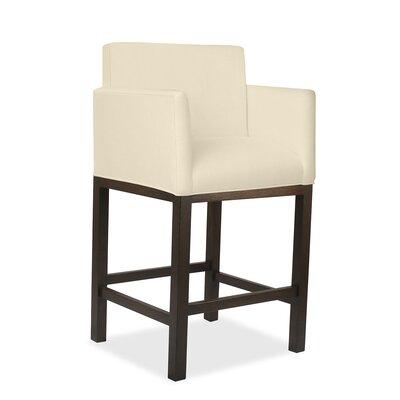 Hanshaw 30 Bar Stool Upholstery: Sand