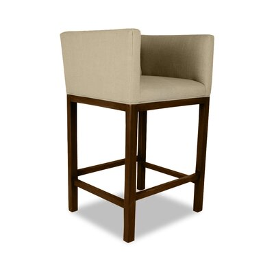 Haralson 26 Bar Stool Upholstery: Sand