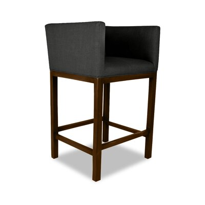 Haralson 26 Bar Stool Upholstery: Charcoal