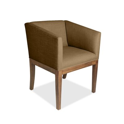 Harber Arm Chair Upholstery: Brown