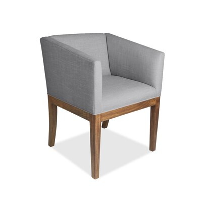 Harber Arm Chair Upholstery: Gray
