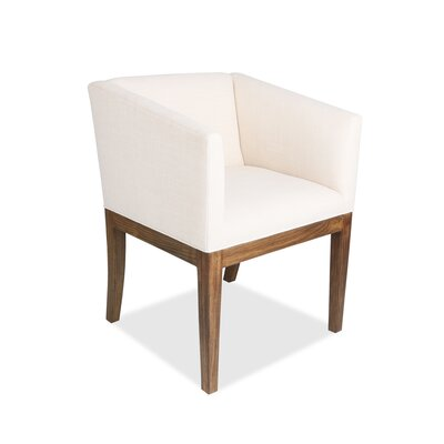 Harber Arm Chair Upholstery: White