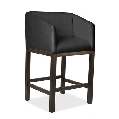 Harber 26 Bar Stool Upholstery: Charcoal