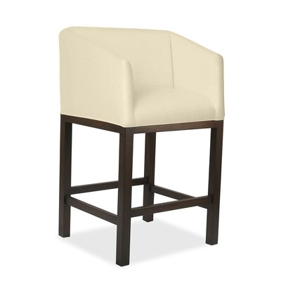 Harber 26 Bar Stool Upholstery: Sand
